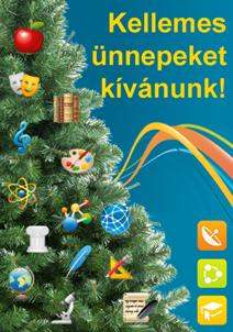 Minden kedves olvasónknak áldott karácsonyt és eredményekben gazdag, boldog új évet kívánunk!